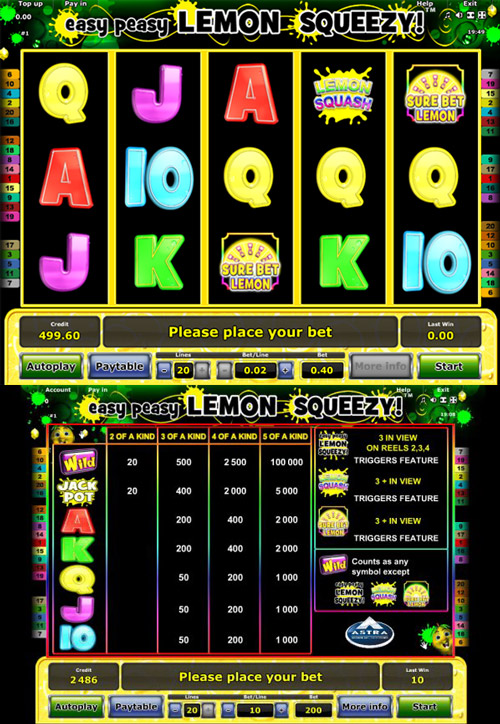 Easy Peasy Lemon Squeezy Slot Online
