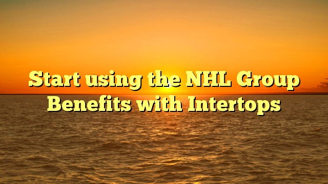 Start using the NHL Group Benefits with Intertops